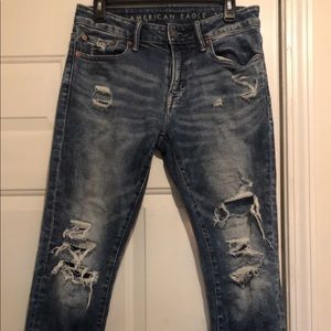 AE men's skinny jeans size 29/30